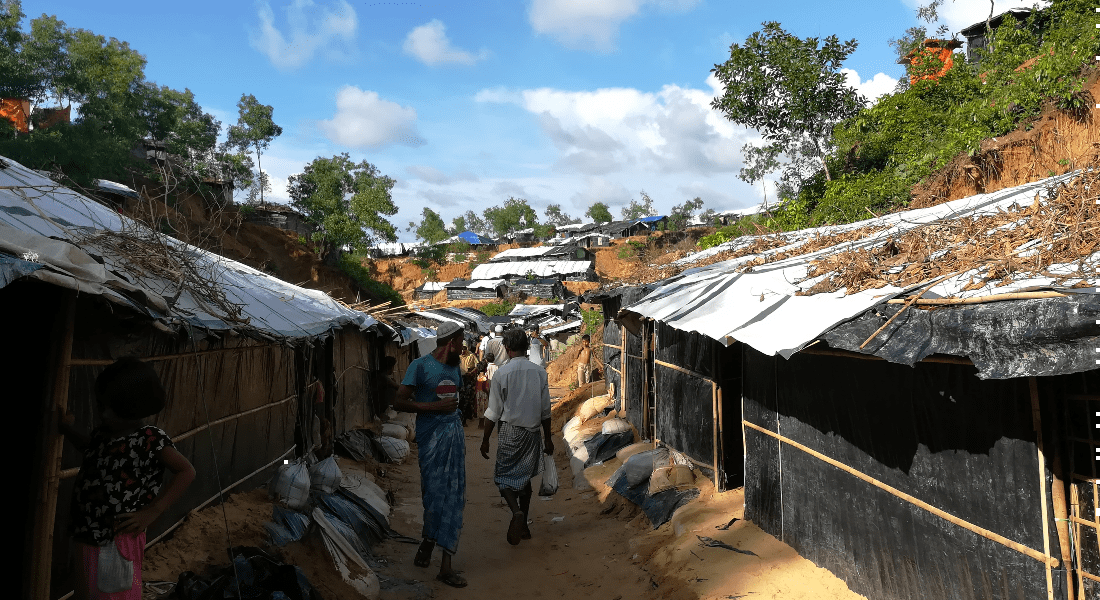 Cox Bazar's Rohingya refugee camp