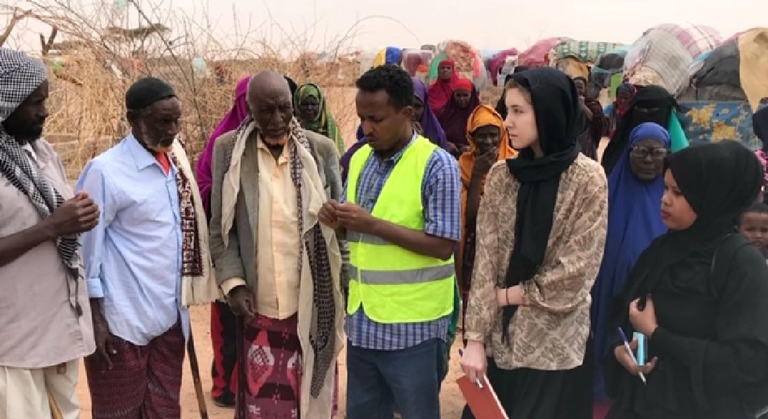 Brianna Katherine Martin on a previous deployment in Somalia.