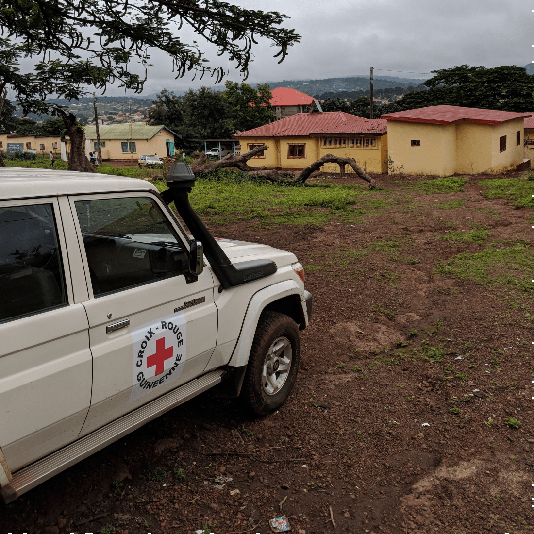 Guinea Red Cross Prefectoral Office in Mamou, Guinea.